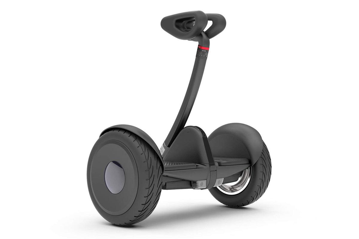 Siyah Ninebot S hoverboard