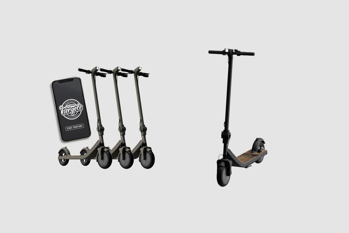 Hergele Elektrikli Scooter