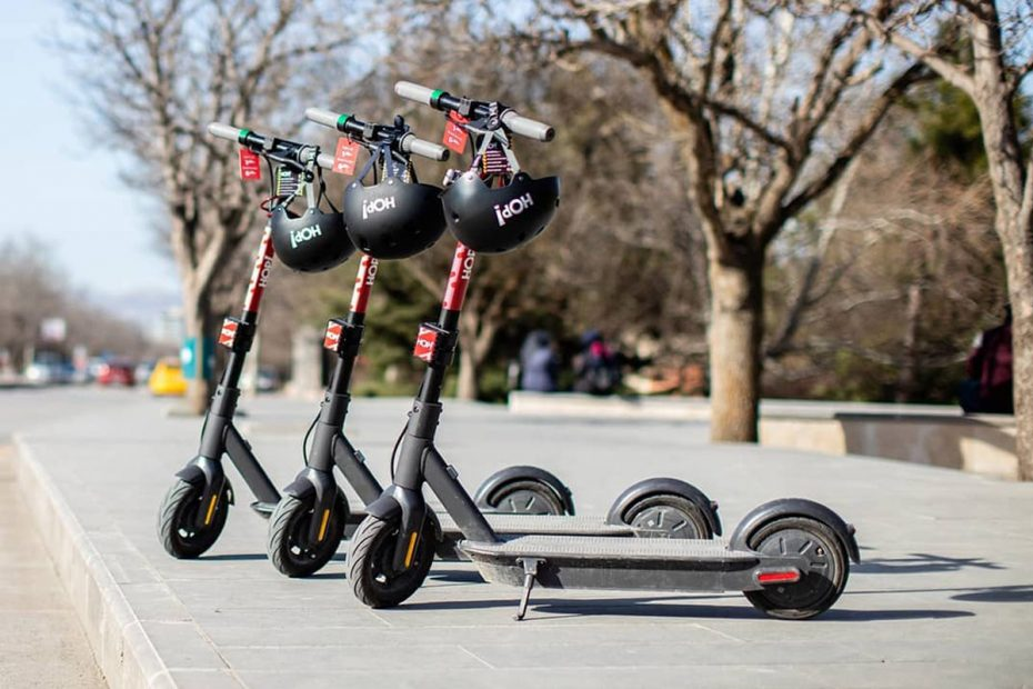 HO Elektrikli Scooter Kiralama